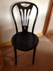 Black dining/kitchen chairs